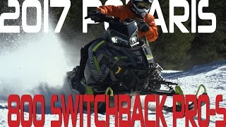 STV 2017 Polaris 800 Switchback PRO-S