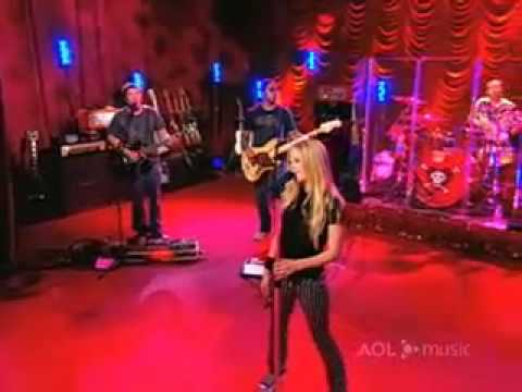 Avril Lavigne When You're Gone Live [AOL Sessions]
