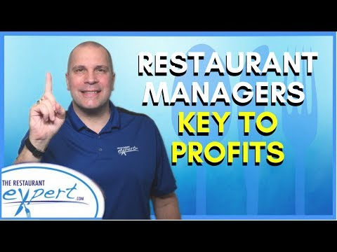 Restaurant Management Tip - Why Managers Are Key to Restaurant Profitability #restaurantsystems