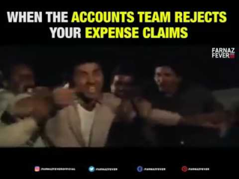 When accountant rejects your expense claim