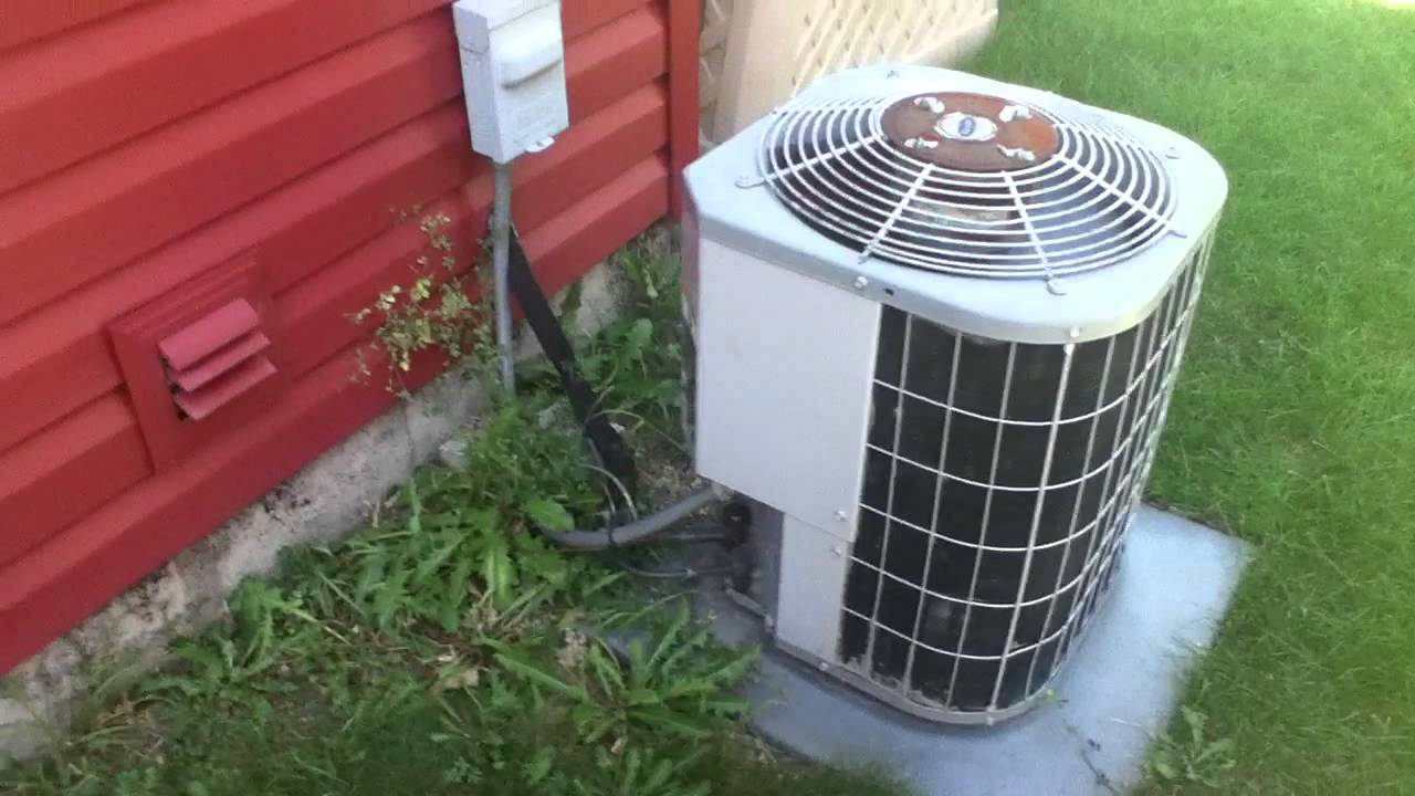 2001 Carrier 38ckc Air Conditioner Running Youtube