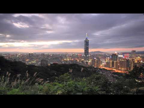 2014.02.22 Sun set of Taipei Time Lapse