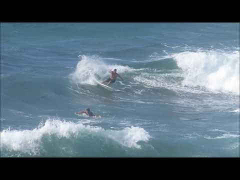 Andrew 'Joey' Johns Surfing Bronte Beach - By Cora Bezemer