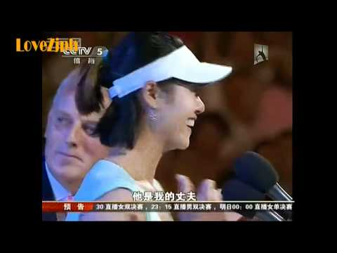 Li Na interviews, after Women's Finals, Australian Open 2011 女单决赛后采访李娜