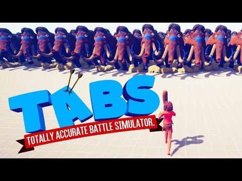 One Man VS. 1000 Mammoths in Totally Accurate Battle Simulator (TABS)