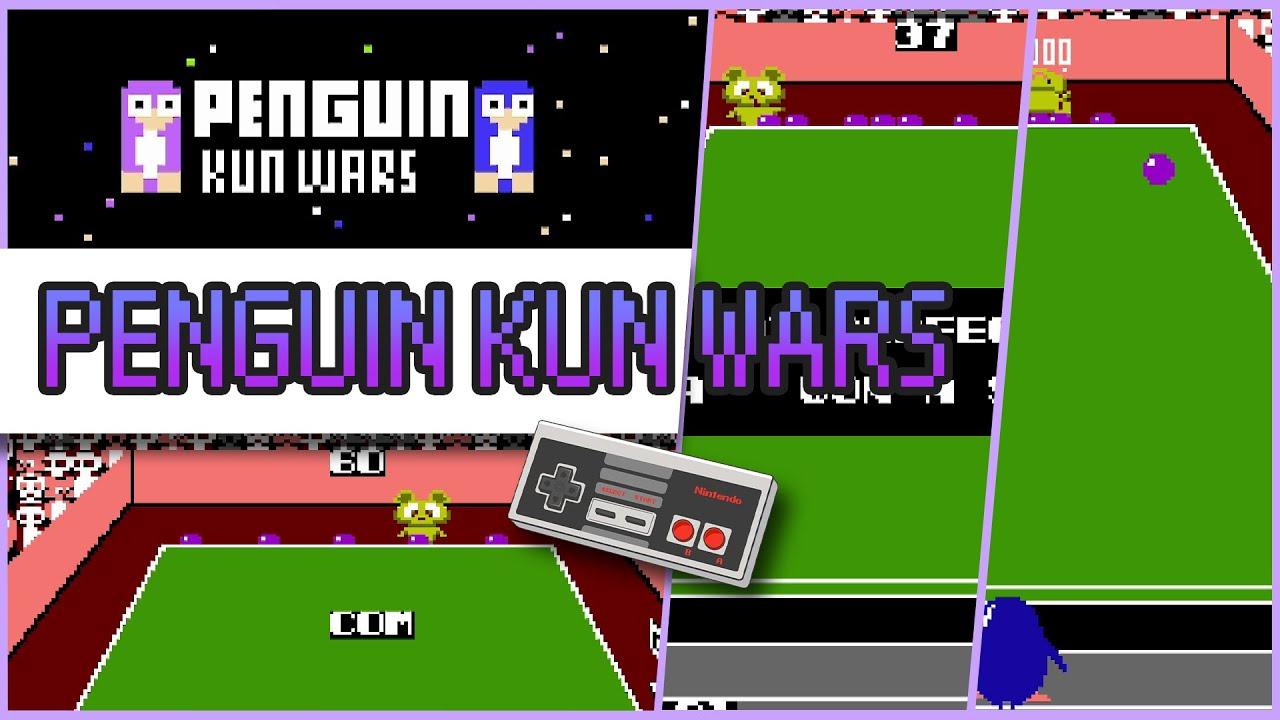 Penguin Kun Wars 1985 NES Game #shorts
