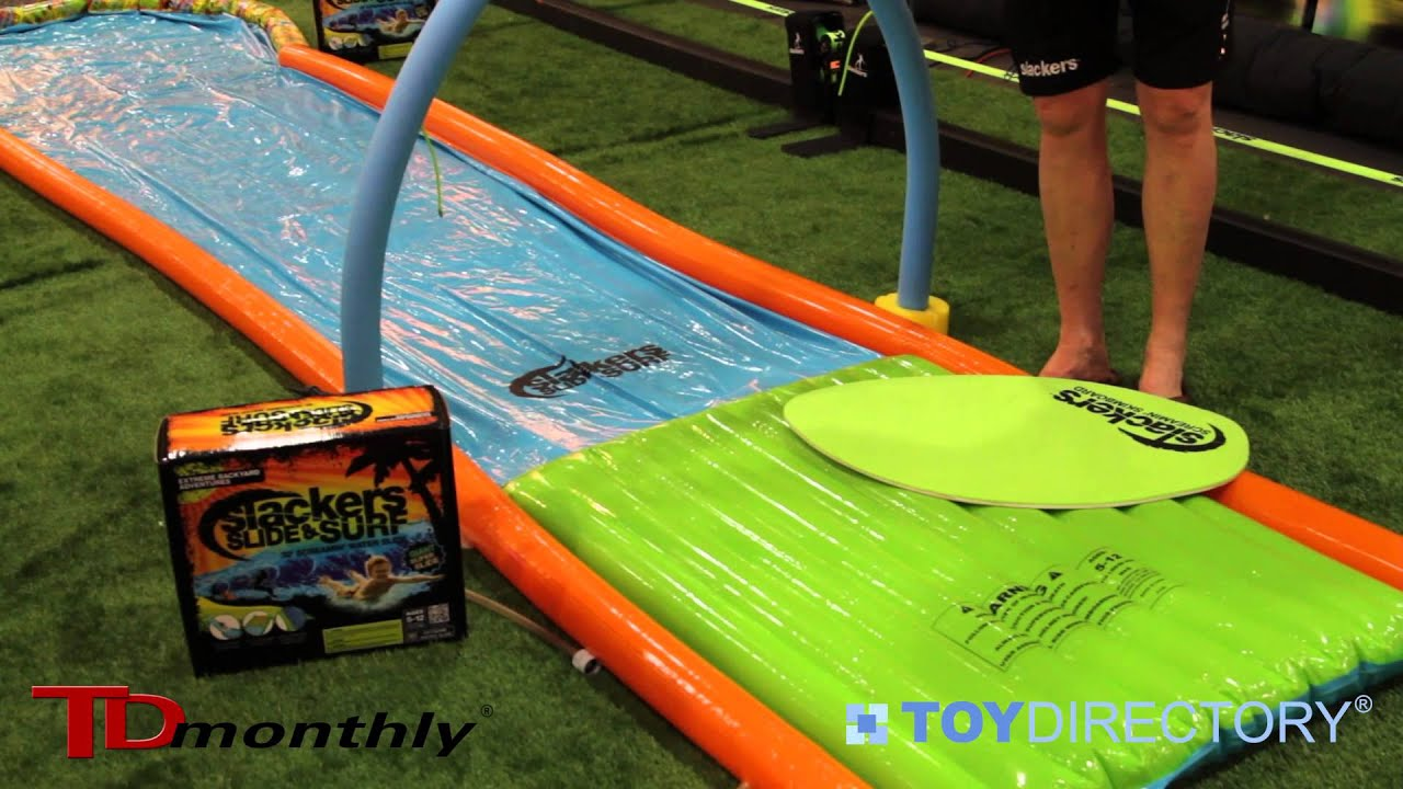 surf in your own backyard slide and surf with brand 44 youtube