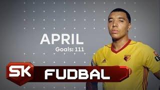 PREMIJER LIGA 2017/18 - Najbolji Golovi u Aprilu | SPORT KLUB Fudbal