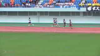 平成27年度 長崎県中学校総合体育大会男子低学年 4×100m