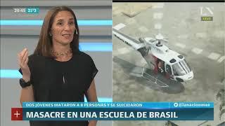 Inés Capdevila: Masacre en una escuela de Brasil - PM