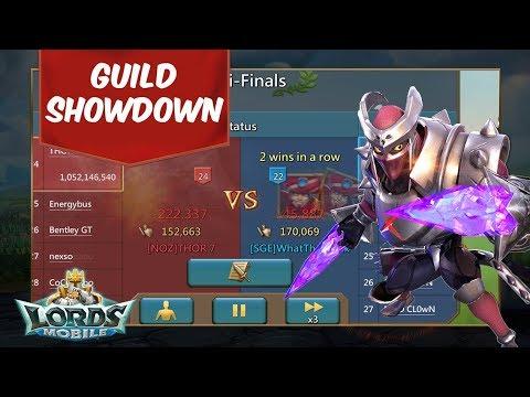 SGE Guild Showdown Division 15  - Lords Mobile