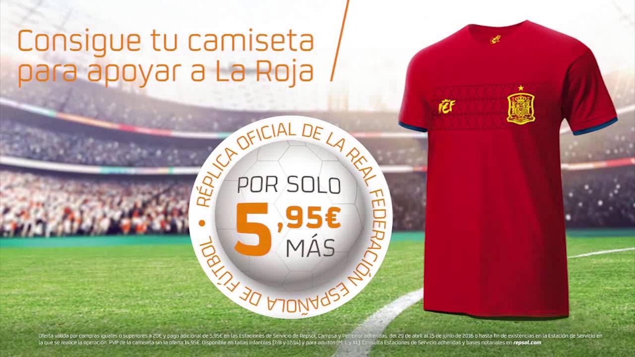 2171cf15c76cd Consigue la réplica de la camiseta de la selección española con Galuresa. -  YouTube