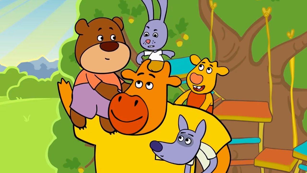 Премьера! Оранжевая Корова - Сборник серий 10-12 🎈 Kedoo Мультики для детей