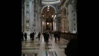 Экскурсия по собору Петра и Павла в Риме. Ватикан.(Приглашаем обсудить на форум http://www.avtotravel.com., 2010-02-21T17:18:48.000Z)