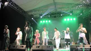 [FANCAM] 140119 LukieBeat Concert in Jakarta Lunafly & LC9 - Never Say Never (by Justin Bieber)
