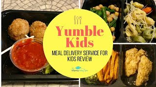 Yumble Kids Meal Delivery Service Review + 50% Off Deal