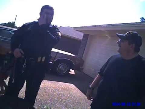 Racial Slur By Cleburne Texas Police