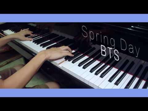 BTS(방탄소년단) - 봄날(Spring Day) piano cover