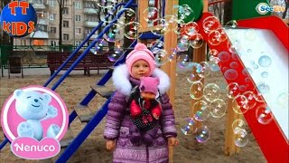 ✔ Зимняя одежда для малыша Ненуко – подарки от Ярославы. Прогулка с куклой / Nenuco Winter Clothing