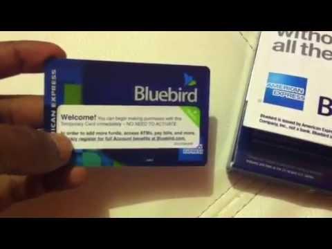Amex Bluebird Prepaid Credit Card