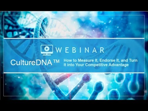 Culture DNA: How to Measure, Endorse, and Turn it into Your Competitive Advantage