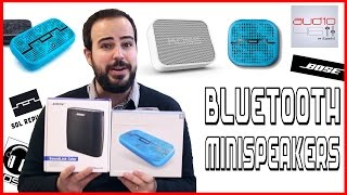 BLUETOOTH MINISPEAKERS. Mis altavoces bluetooth favoritos.