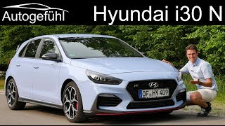 Hyundai i30 N FULL REVIEW - can it beat the GTI? Autogefühl
