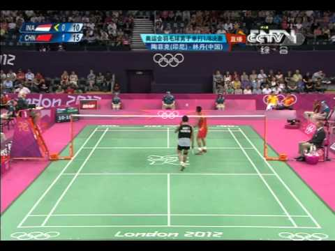 London Olympics BMS-R16 Lin Dan vs Taufik Hidayat 9