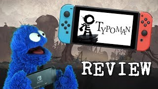 Typoman Review (Switch) │ A Way With Words (Video Game Video Review)