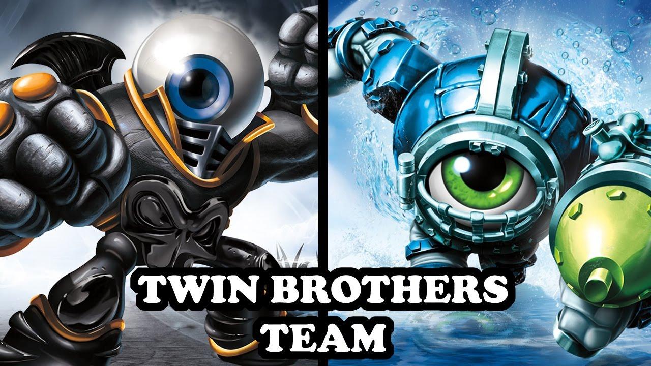 Skylanders imaginators eye brawl dive clops gameplay - Coloriage skylanders giants eye brawl ...