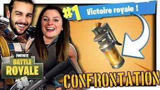 ON DOIT FAIRE UN KILL AVEC CETTE GRENADE EMPOISONNÉE !   FORTNITE TOP 1 MODE CONFRONTATION