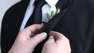 How To Pin A Boutonniere!