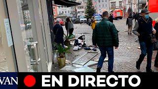 DIRECTO: La primera ministra estatal visita la escena del accidente en Trier