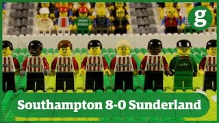 Southampton 8-0 Sunderland | Brick-by-brick