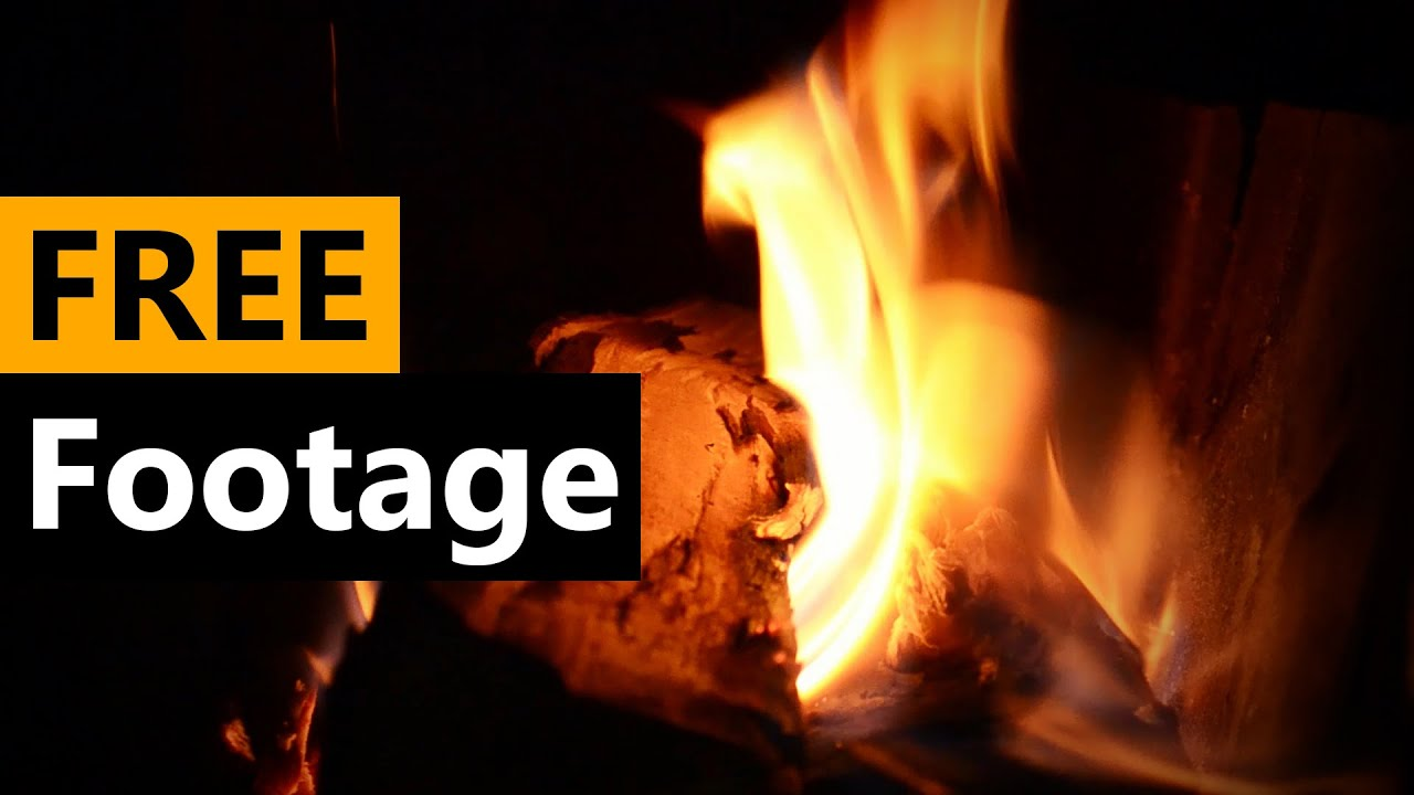 Fire - Fireplace - FREE Stock Video Footage [Download Full HD ...