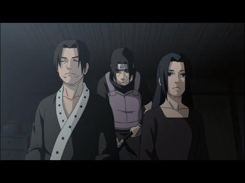 Itachi kills the Uchiha Clan except Sasuke and joins Akatsuki