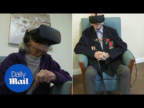 Dementia sufferers have incredible experiences with VR headsets – Daily Mail