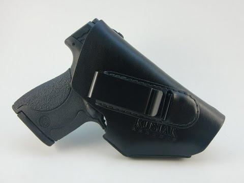 Shield IWB Holster Kusiak Leather
