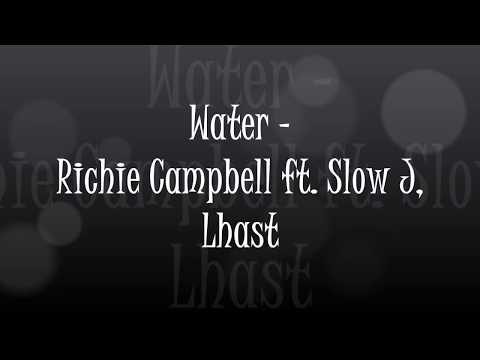 (Letra / Lyrics) Richie Campbell - Water