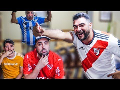 CON APUESTA de CAMISETA! River vs Independiente | Reacciones | Superliga 2019