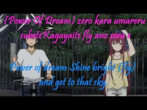 Hataraku Maou-sama Opening 1 Full Lyrics on screen Romaji,English)