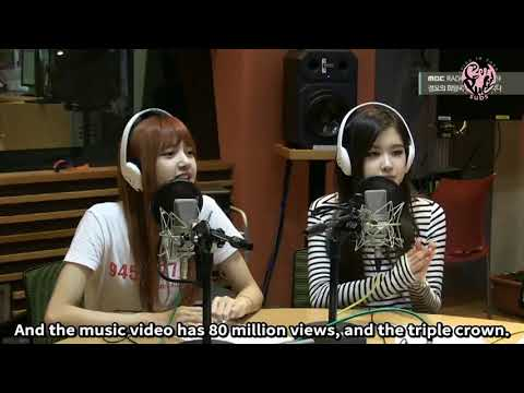 [ENGSUB] 170726 BLACKPINK - Kim Shinyoung's Hope Song at Noon Radio Show