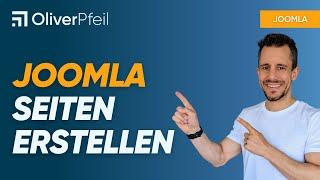 Joomla Seiten erstellen