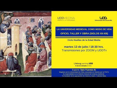 Ciclo Huellas de la Edad Media | La universidad medieval como modo de vida: oficio, taller y obra