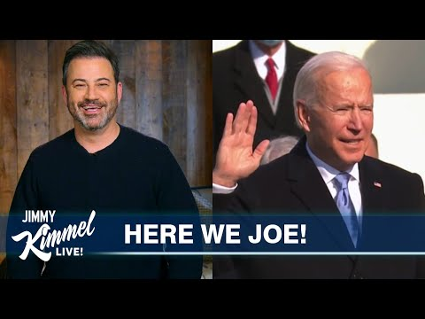 Joe Biden is Finally President & We Feel Great Again
