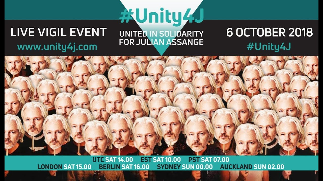 #Unity4J Vigil 5.0 for Julian Assange