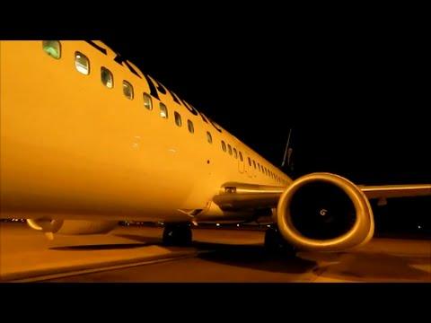 **Full Night Flight**Air Explore 737-400 Leeds Bradford International to Dublin Airport