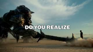 Do You Realize Ursine Vulpine Cover Lyrics Transformers The Last Knight Trailer Song SAMIC
