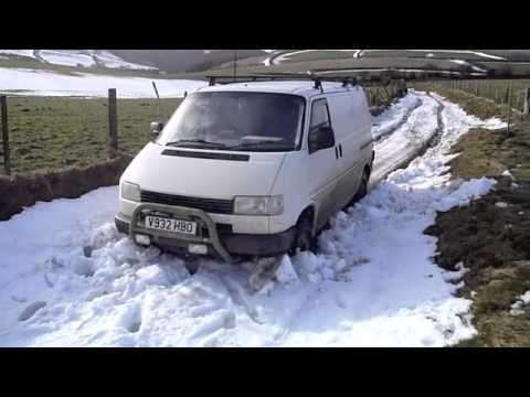 vw syncro t4 in exmoor snow youtube. Black Bedroom Furniture Sets. Home Design Ideas