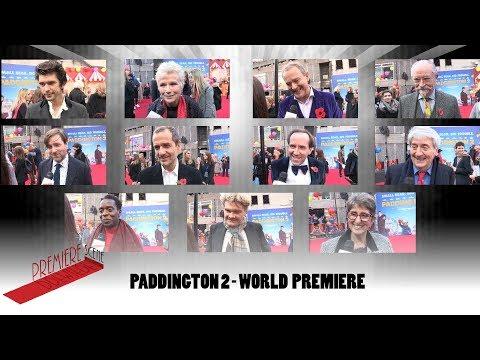 Paddington 2 – World Premiere Interviews - Ben Whishaw, Hugh Bonneville, Julie Walters